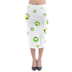 Green eyes Midi Pencil Skirt
