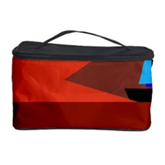 Red monster fish Cosmetic Storage Case