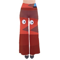 Red monster fish Pants