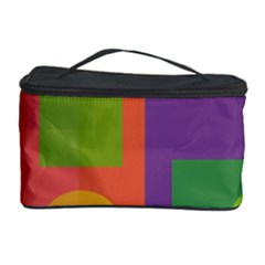 Colorful geometrical design Cosmetic Storage Case
