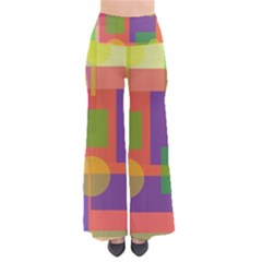 Colorful geometrical design Pants