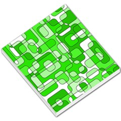 Green decorative abstraction  Small Memo Pads