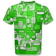Green decorative abstraction  Men s Cotton Tee