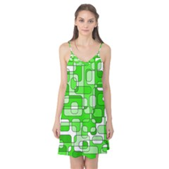 Green decorative abstraction  Camis Nightgown