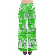 Green decorative abstraction  Pants