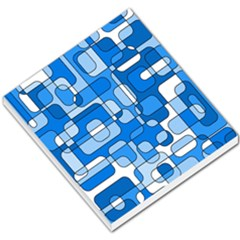 Blue decorative abstraction Small Memo Pads