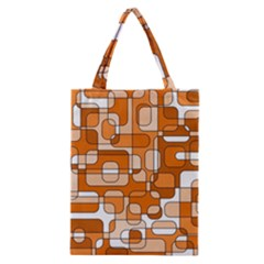 Orange decorative abstraction Classic Tote Bag
