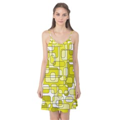 Yellow decorative abstraction Camis Nightgown