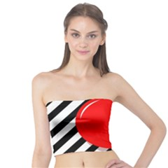 Red ball Tube Top