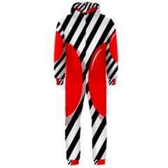 Red ball Hooded Jumpsuit (Men)
