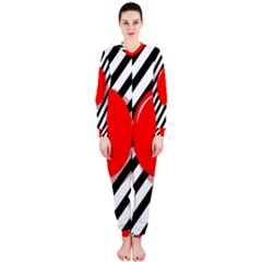 Red ball OnePiece Jumpsuit (Ladies)