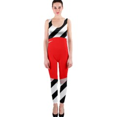 Red ball OnePiece Catsuit