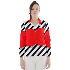 Red ball Wind Breaker (Women)