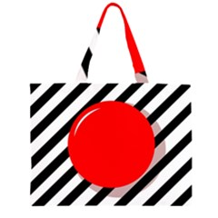 Red ball Large Tote Bag
