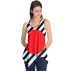 Red Ball Sleeveless Tunic