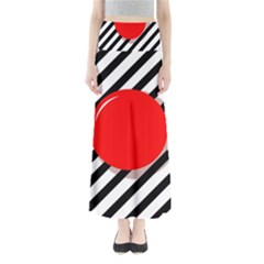 Red ball Maxi Skirts
