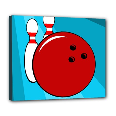 Bowling  Deluxe Canvas 24  x 20