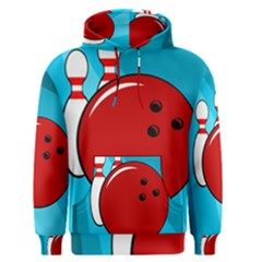 Bowling  Men s Pullover Hoodie