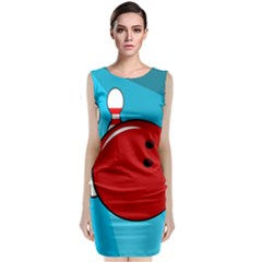 Bowling  Classic Sleeveless Midi Dress