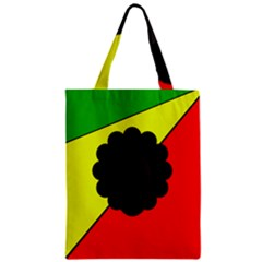 Jamaica Zipper Classic Tote Bag