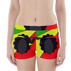 Jamaica Boyleg Bikini Wrap Bottoms