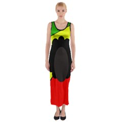 Jamaica Fitted Maxi Dress