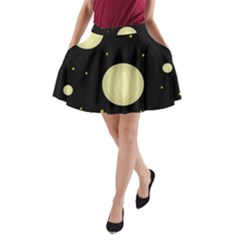 Lanterns A-Line Pocket Skirt