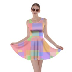 Pastel decorative design Skater Dress