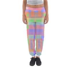 Pastel decorative design Women s Jogger Sweatpants
