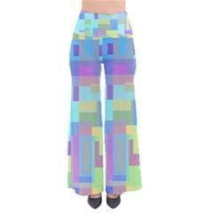 Pastel Geometrical Desing Pants