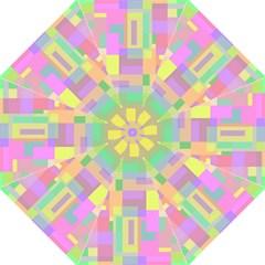 Pastel colorful design Folding Umbrellas