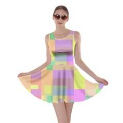 Pastel colorful design Skater Dress