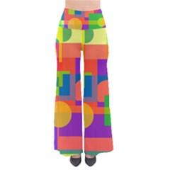 Colorful geometrical design Pants