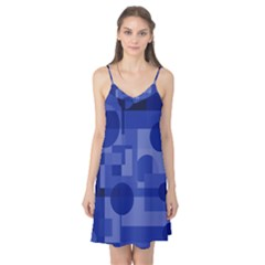 Deep blue abstract design Camis Nightgown