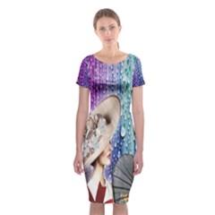 16 - 1-3-2-2016-649-2pm Classic Short Sleeve Midi Dress