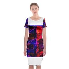 Pizap Com146047844443436 Classic Short Sleeve Midi Dress