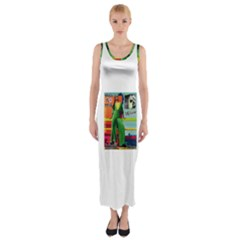 864038039 1989153 Fitted Maxi Dress