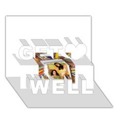 13654176 10209772215964592 4375173679575027886 N Get Well 3D Greeting Card (7x5)