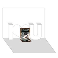 13537804 10209755775913601 6851525431883512319 N I Love You 3D Greeting Card (7x5)