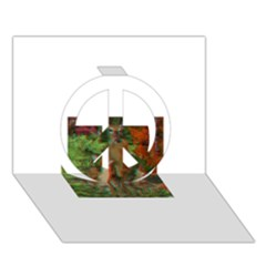 13627210 10209771536307601 4614468097769293160 N Peace Sign 3D Greeting Card (7x5)