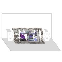 13619977 10209771828634909 341631215116018235 N BEST SIS 3D Greeting Card (8x4)
