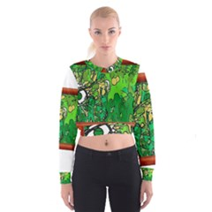 13615425 10209756295846599 4215081916050064477 N Women s Cropped Sweatshirt