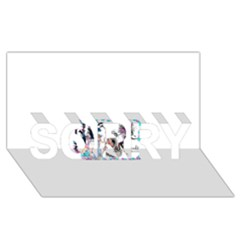 Picmix Com 5004827 SORRY 3D Greeting Card (8x4)