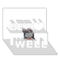 Picmix Com 5019458 Get Well 3D Greeting Card (7x5)