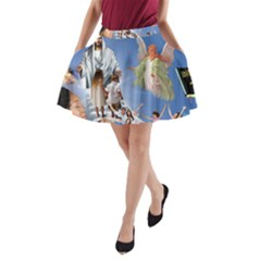 Picmix Com 5019458 A-Line Pocket Skirt