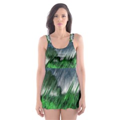 Bluegreen Skater Dress Swimsuit