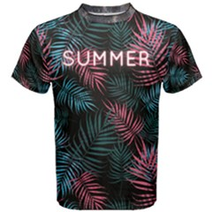 palm tree Men s Cotton Tee