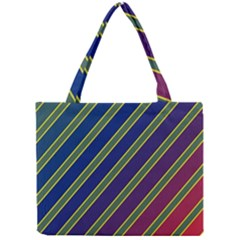 Decorative lines Mini Tote Bag