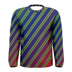 Decorative lines Men s Long Sleeve Tee