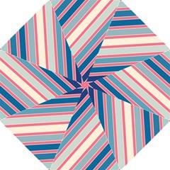 Colorful lines Folding Umbrellas